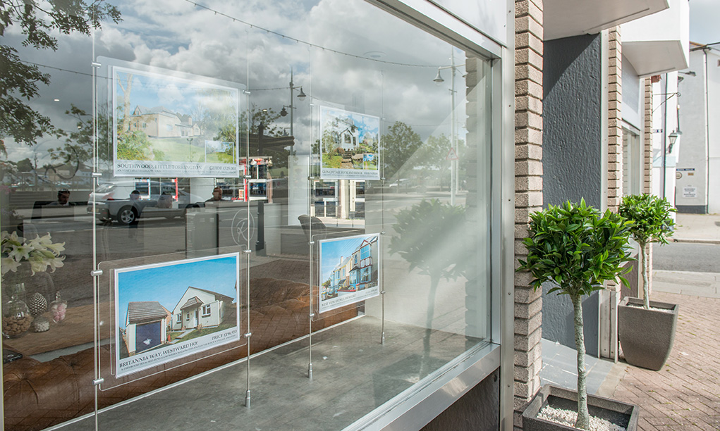 Regency Estate Agent Window